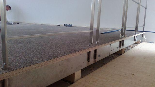 Montageschiene für Steckbare Geländer